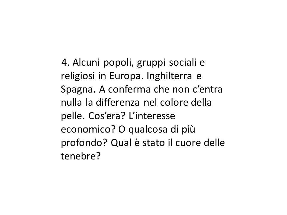 4. Alcuni popoli, gruppi sociali e religiosi in Europa