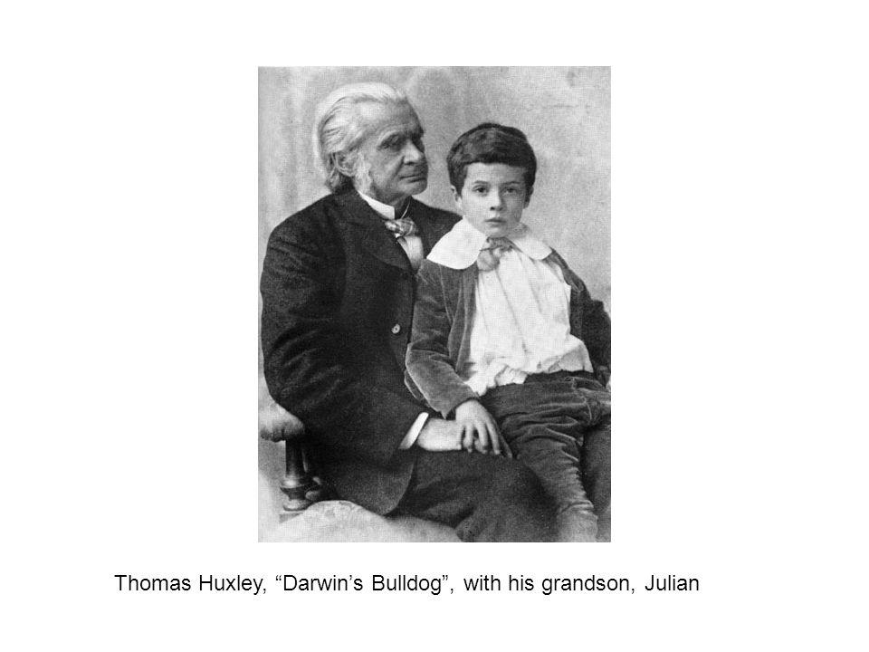 Thomas Huxley, Darwin's Bulldog , with his grandson, Julian