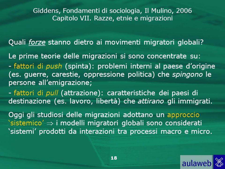 Quali forze stanno dietro ai movimenti migratori globali