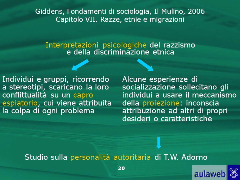 Studio sulla personalità autoritaria di T.W. Adorno