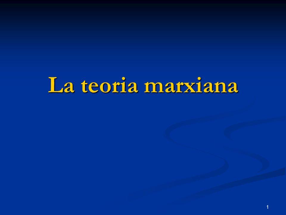 La teoria marxiana
