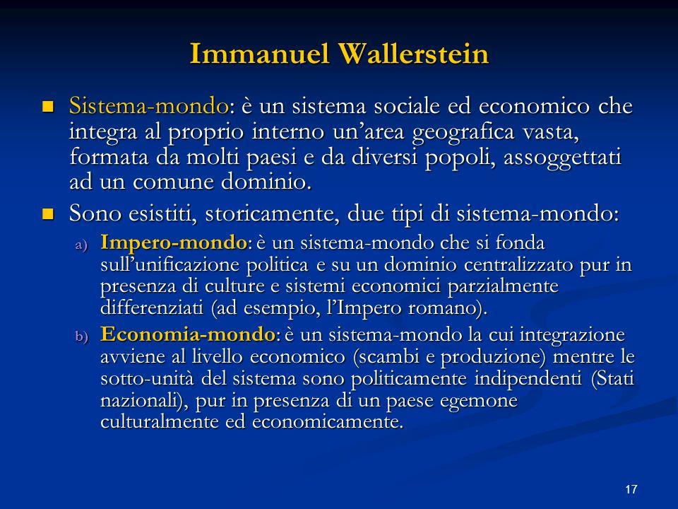 Immanuel Wallerstein