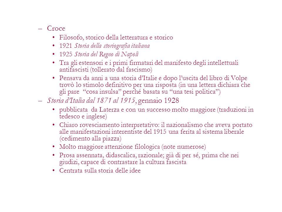 Storia d'Italia dal 1871 al 1915, gennaio 1928