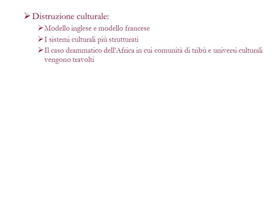 Distruzione culturale: