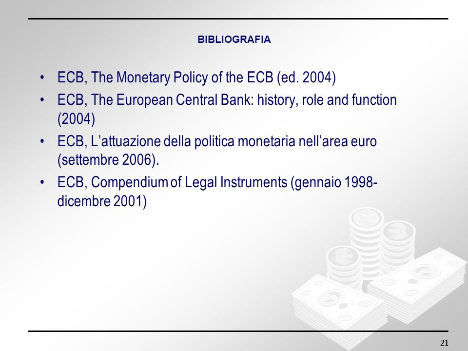 ECB, The Monetary Policy of the ECB (ed. 2004)