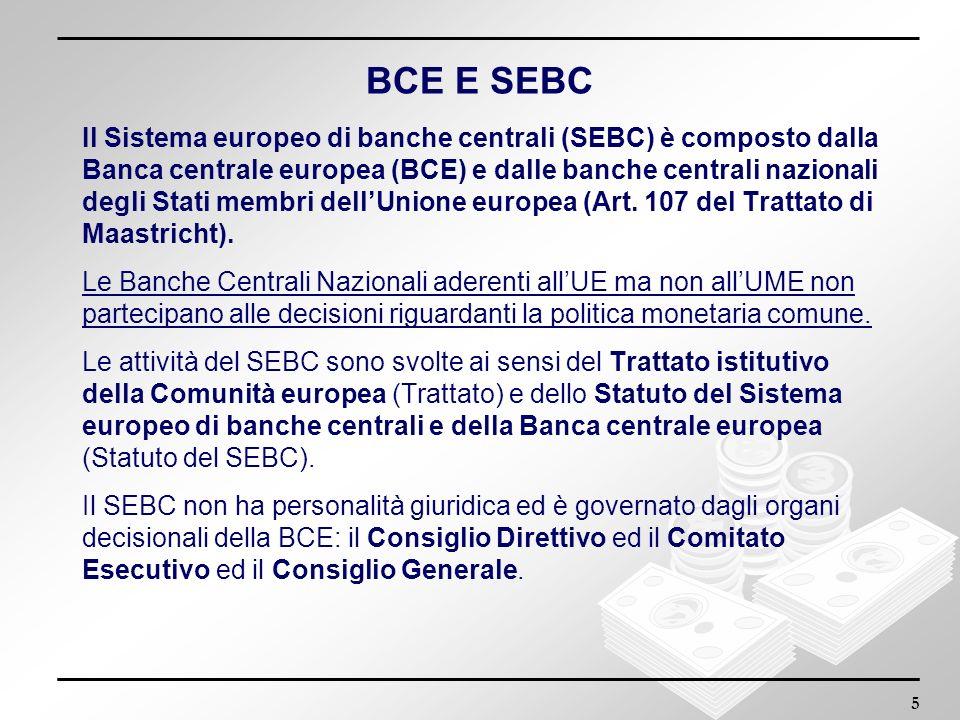 BCE E SEBC