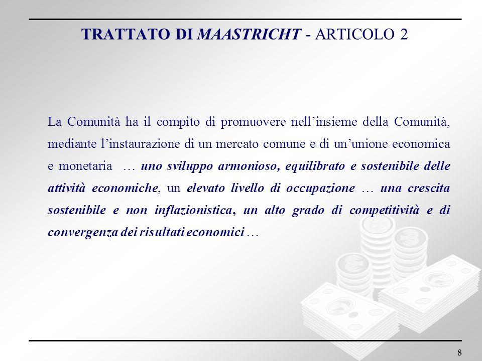 TRATTATO DI MAASTRICHT - ARTICOLO 2