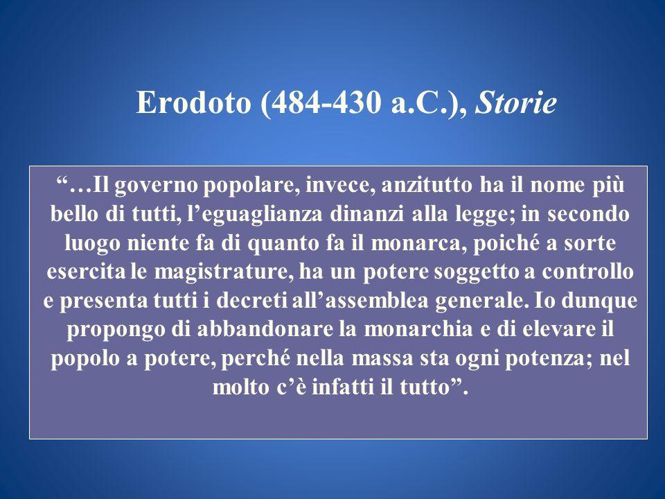 Erodoto (484-430 a.C.), Storie