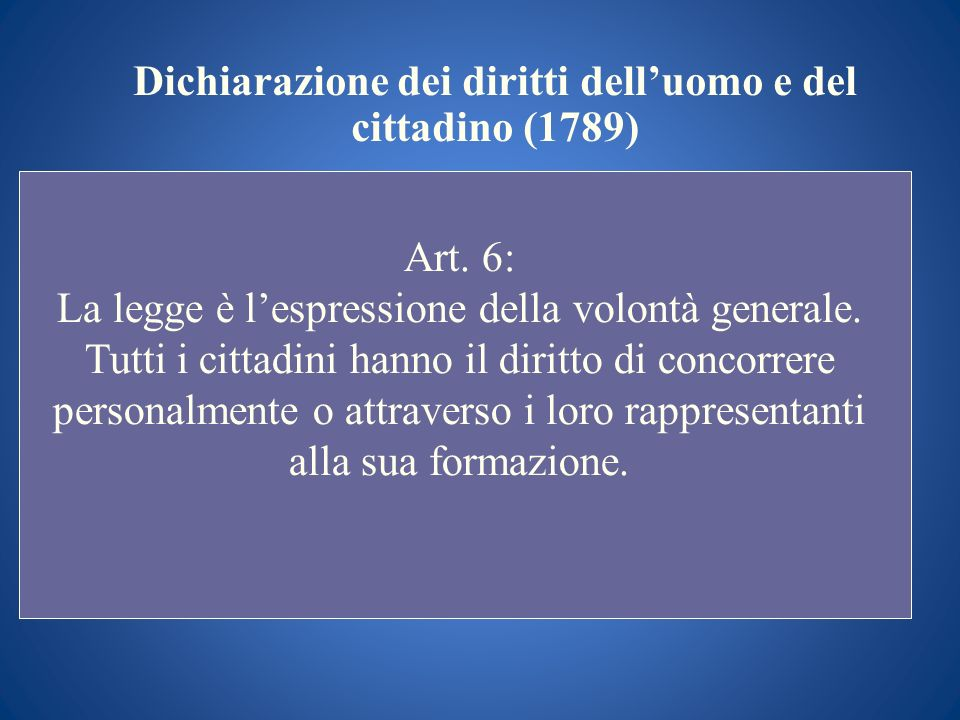Dichiarazione dei diritti dell'uomo e del cittadino (1789)