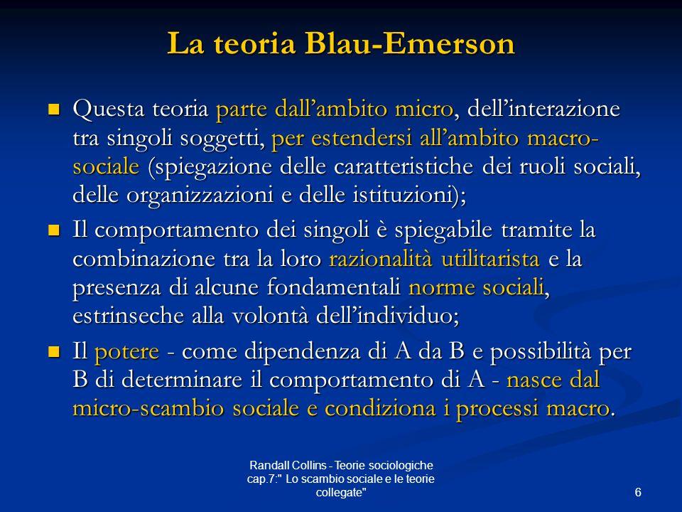 La teoria Blau-Emerson