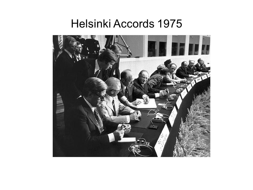 Helsinki Accords 1975
