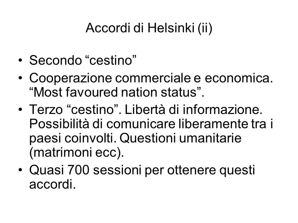 Accordi di Helsinki (ii)