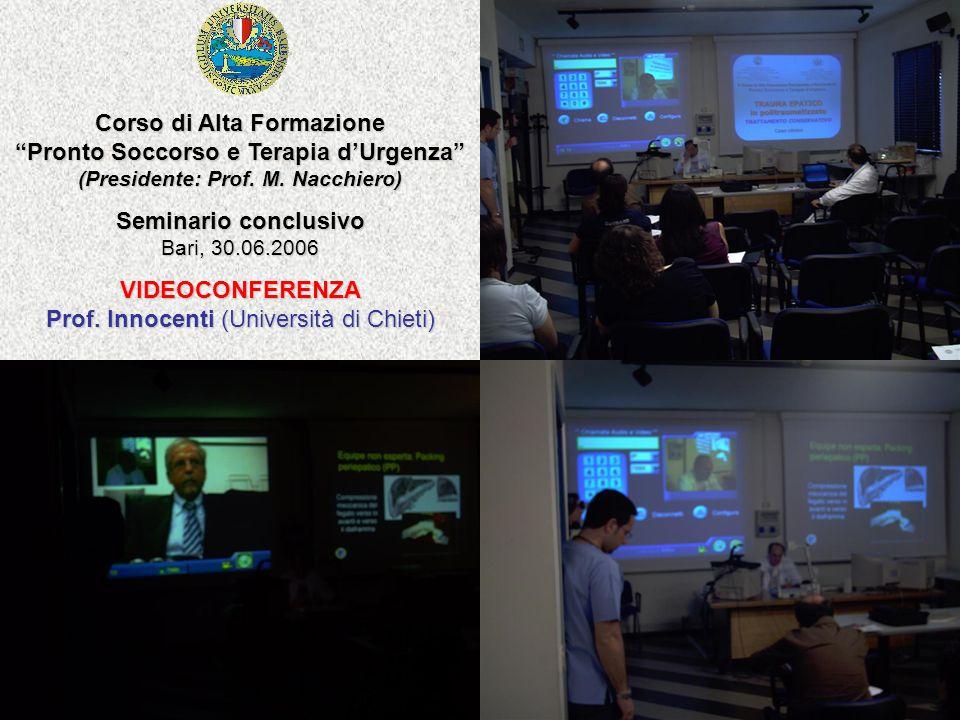 Seminario conclusivo Bari, 30.06.2006