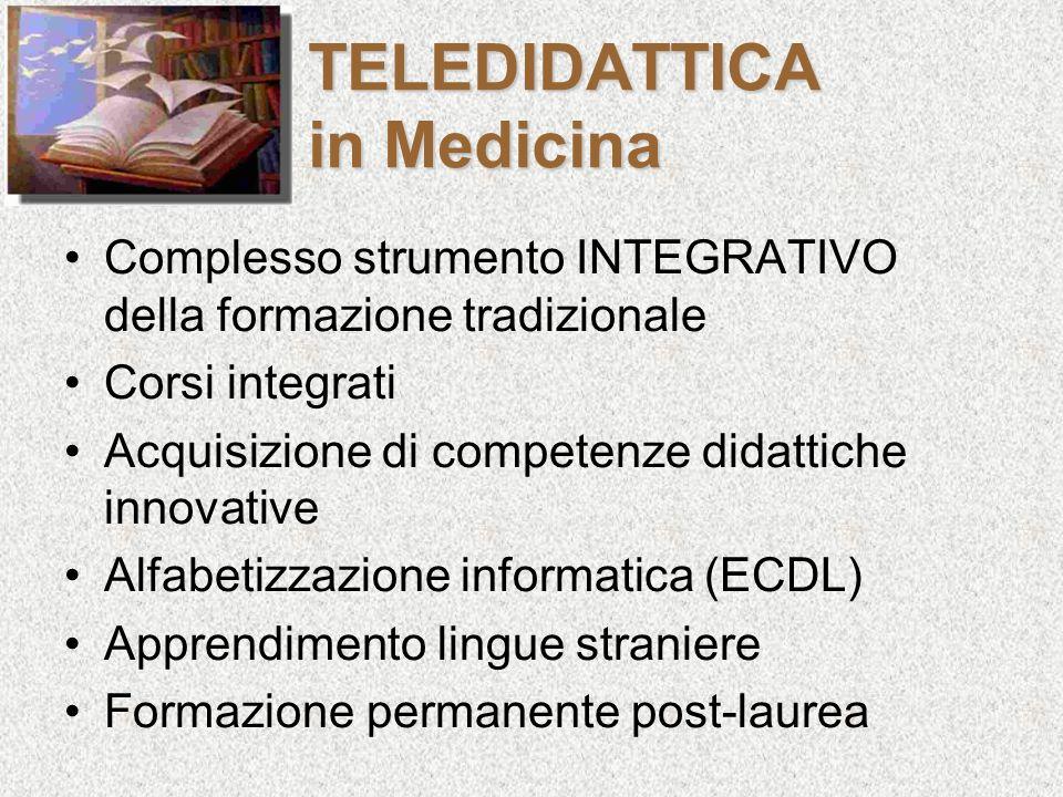 TELEDIDATTICA in Medicina