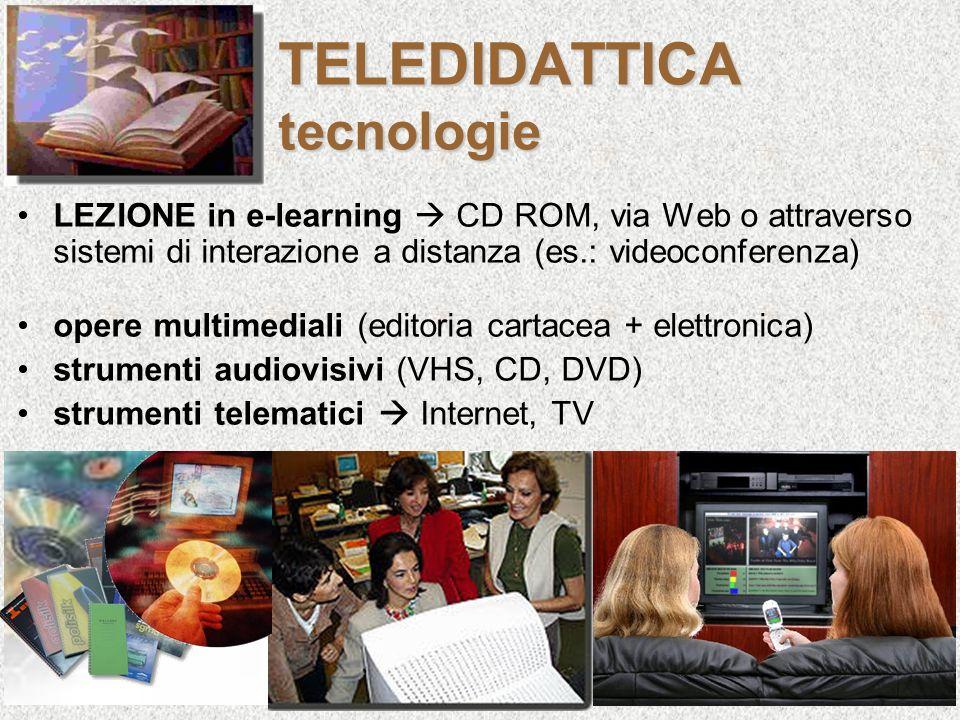 TELEDIDATTICA tecnologie
