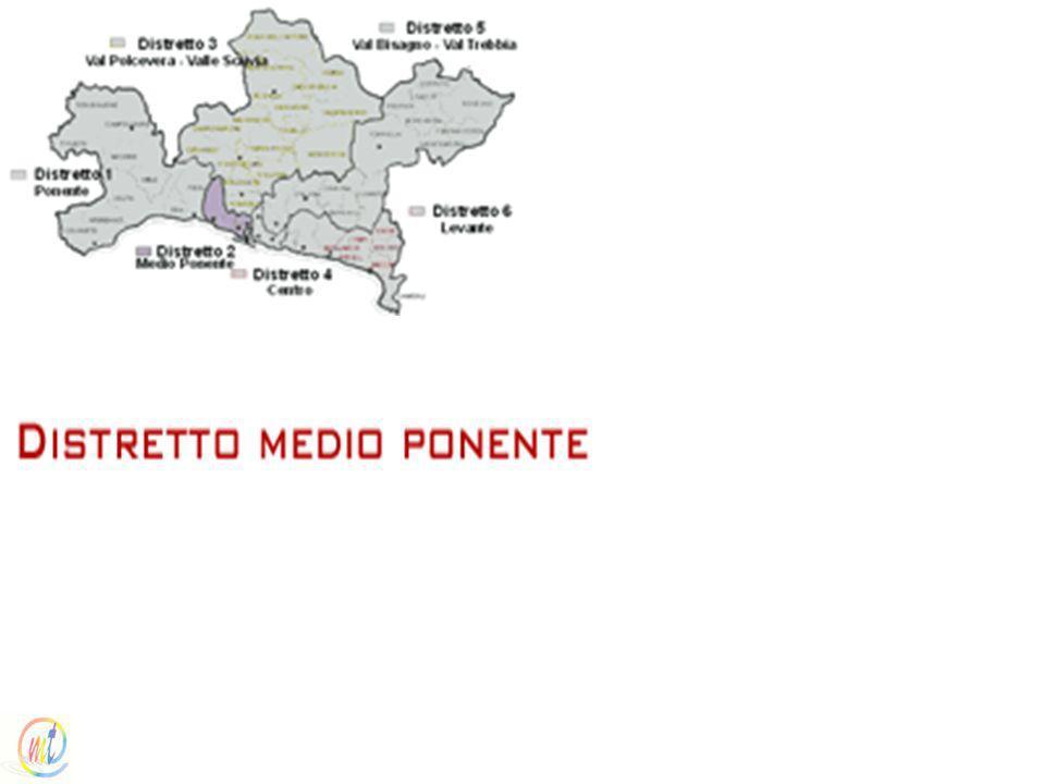 I distretti sanitari / Distretto Medio Ponente (Distretto socio sanitario n. 9)