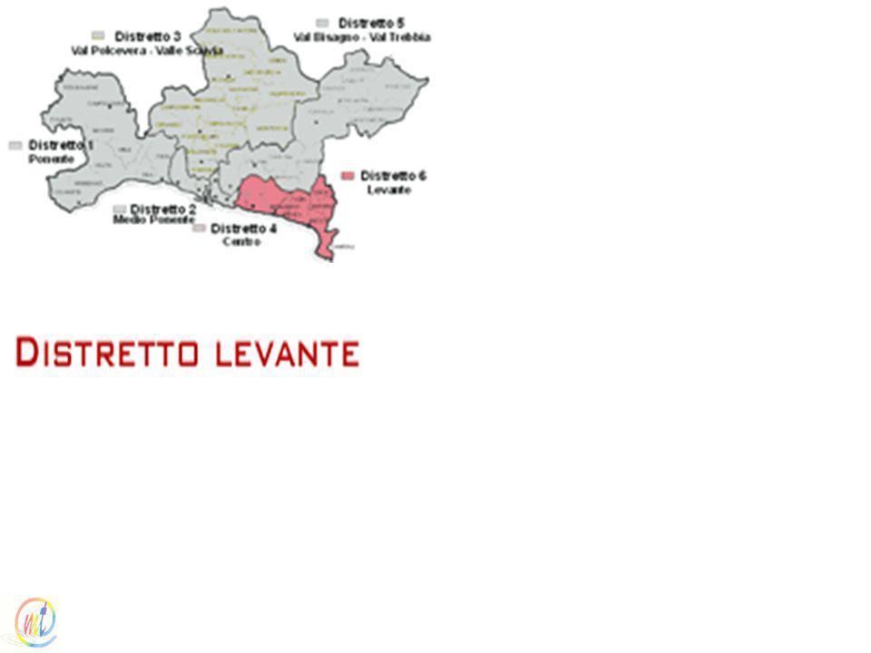 I distretti sanitari / Distretto levante (Distretto socio sanitario n