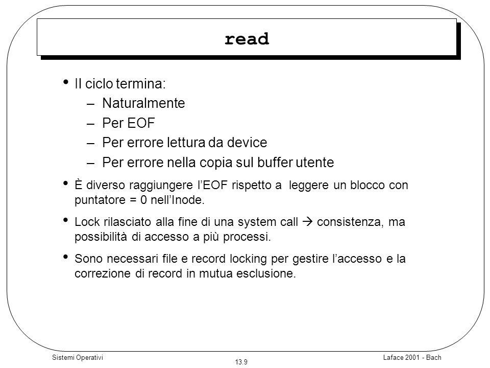 read Il ciclo termina: Naturalmente Per EOF