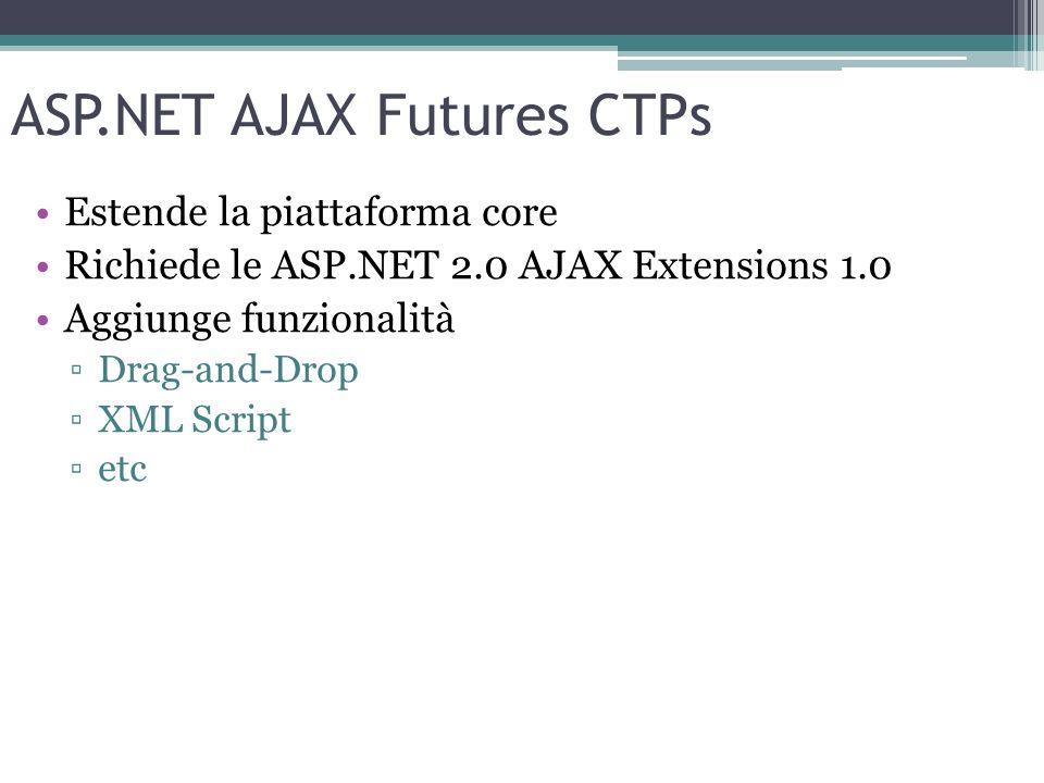 ASP.NET AJAX Futures CTPs