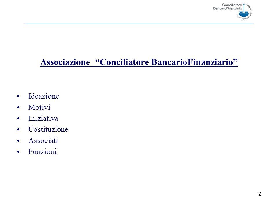Associazione Conciliatore BancarioFinanziario