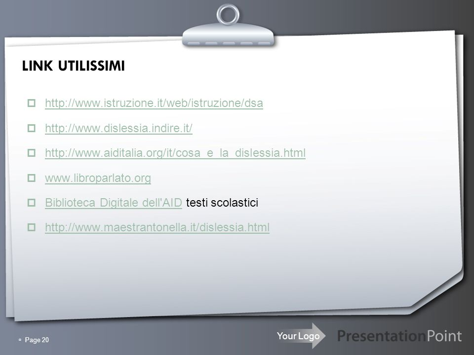 LINK UTILISSIMI http://www.istruzione.it/web/istruzione/dsa