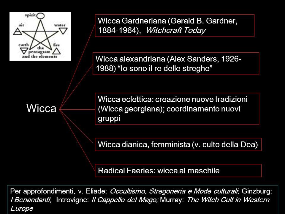 Wicca Gardneriana (Gerald B. Gardner, 1884-1964), Witchcraft Today