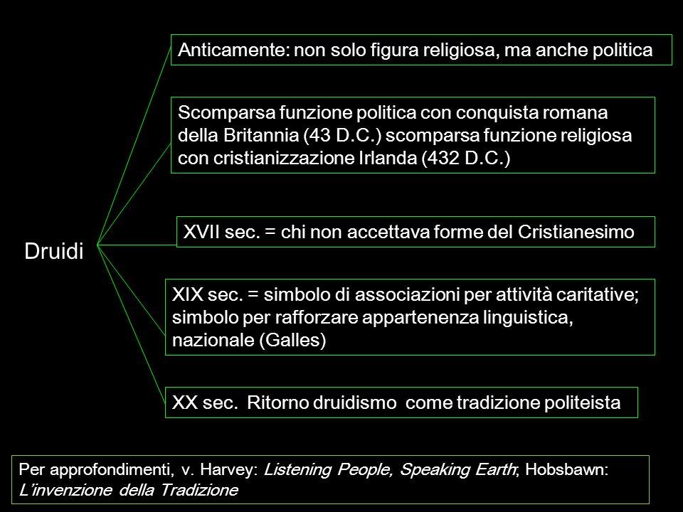 Druidi Anticamente: non solo figura religiosa, ma anche politica