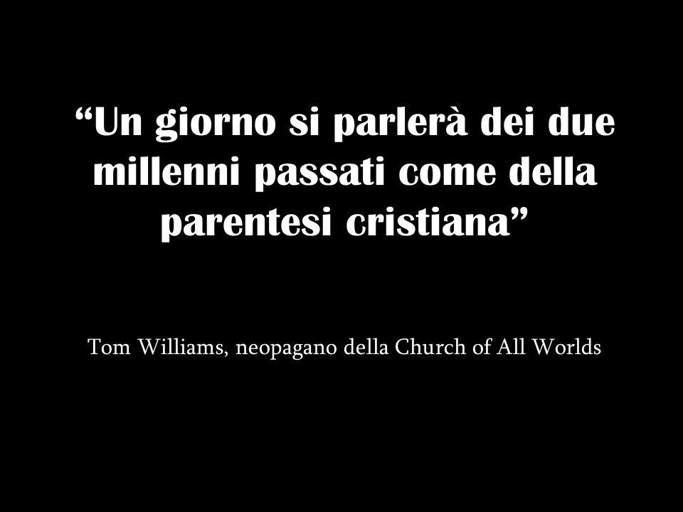 Tom Williams, neopagano della Church of All Worlds