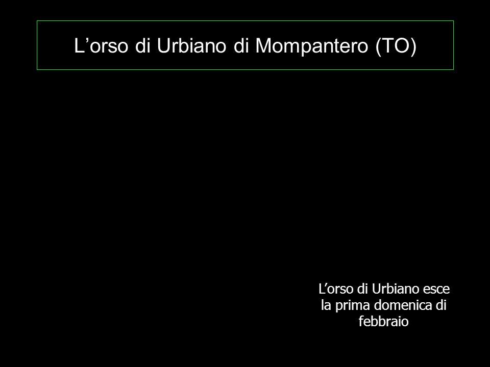 L'orso di Urbiano di Mompantero (TO)
