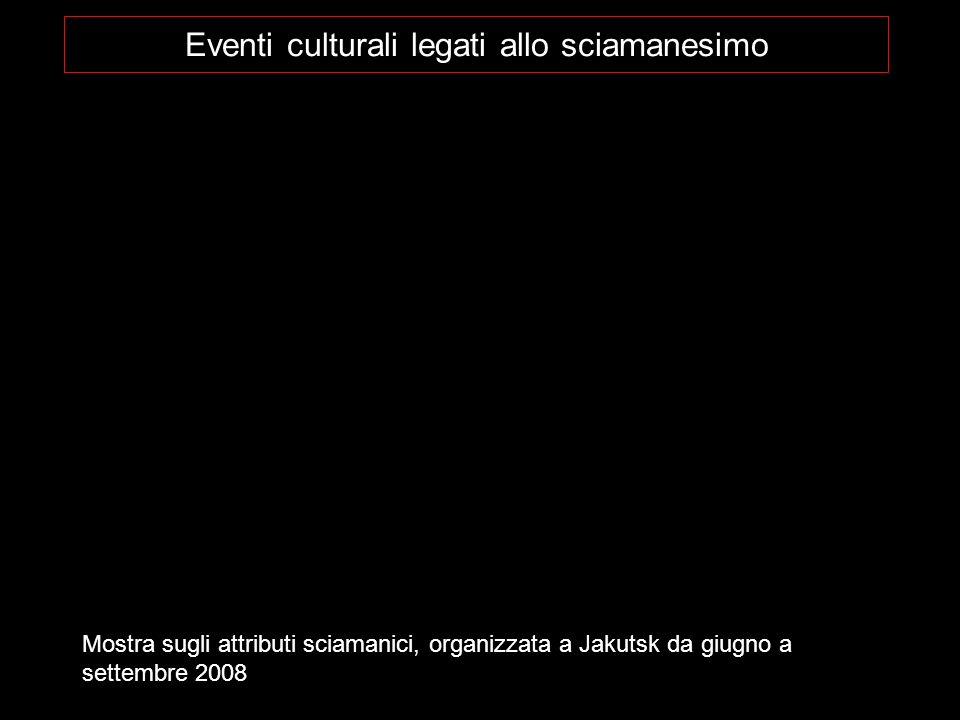 Eventi culturali legati allo sciamanesimo