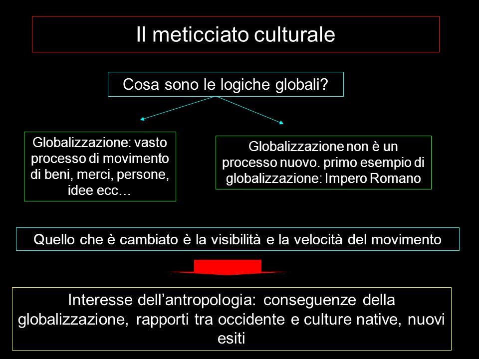 Il meticciato culturale