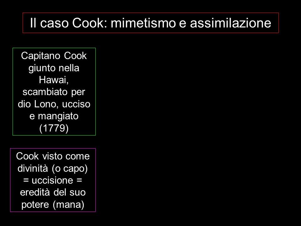 Il caso Cook: mimetismo e assimilazione