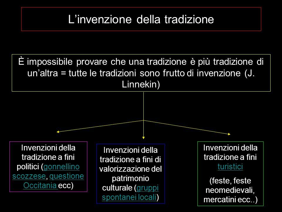 L'invenzione della tradizione