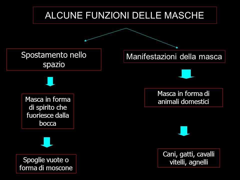 ALCUNE FUNZIONI DELLE MASCHE
