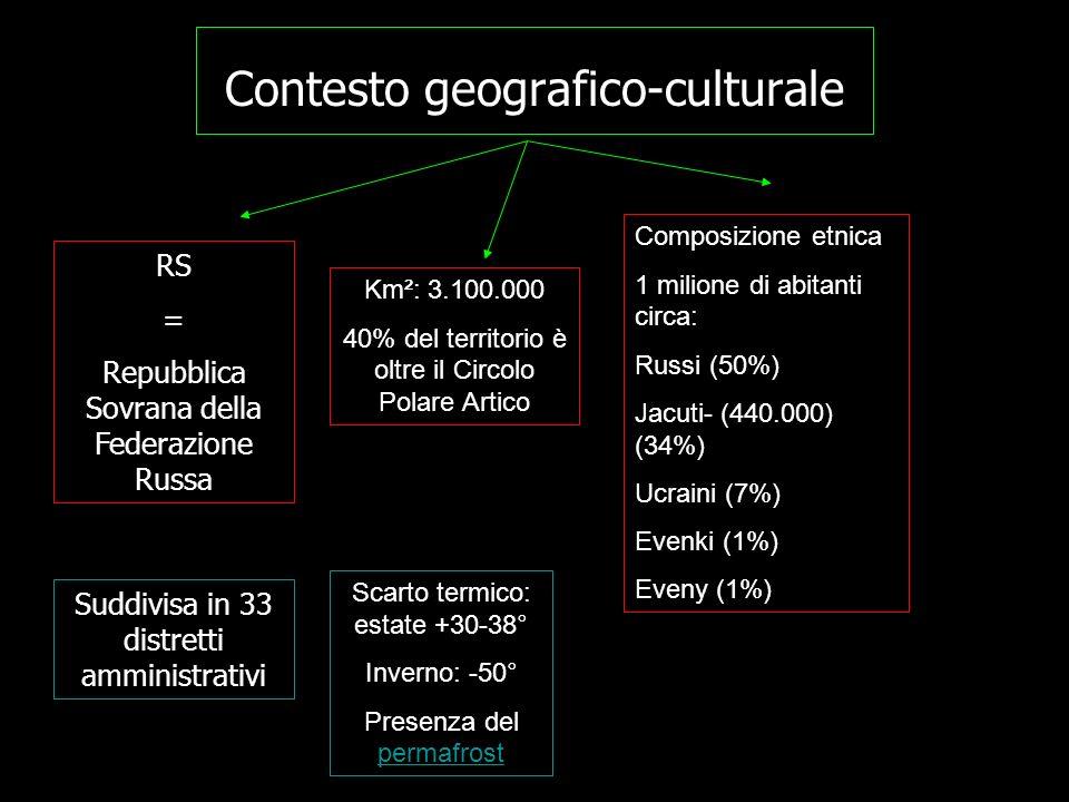 Contesto geografico-culturale