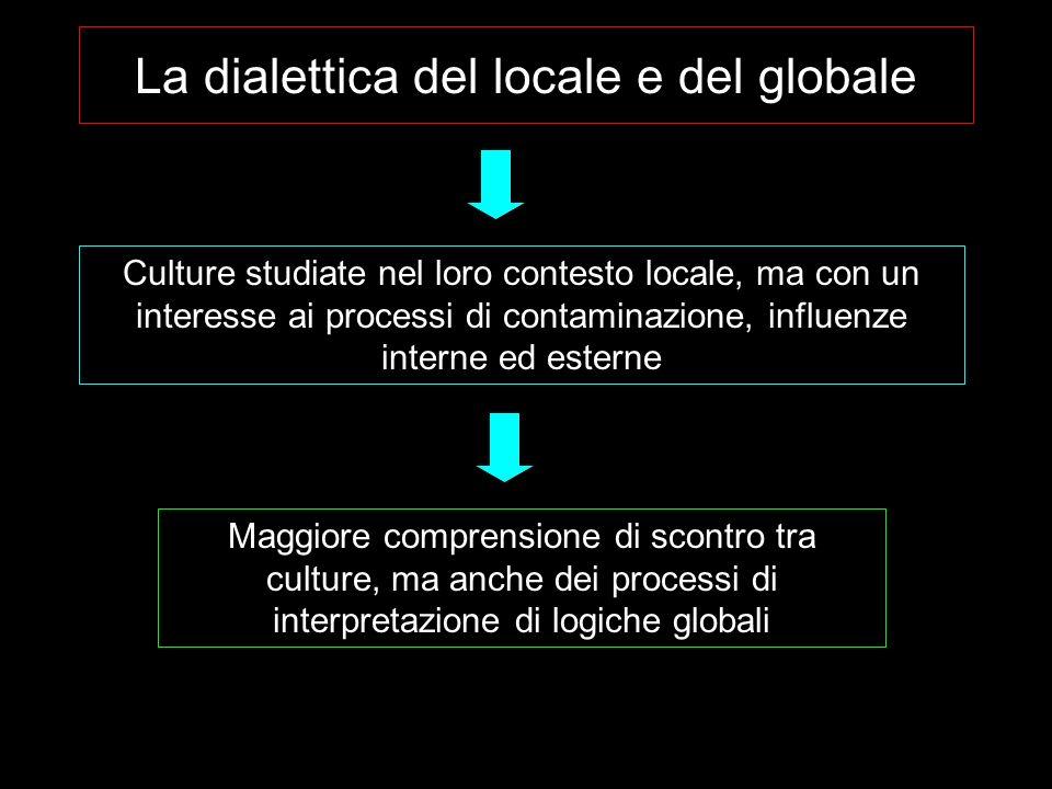 La dialettica del locale e del globale