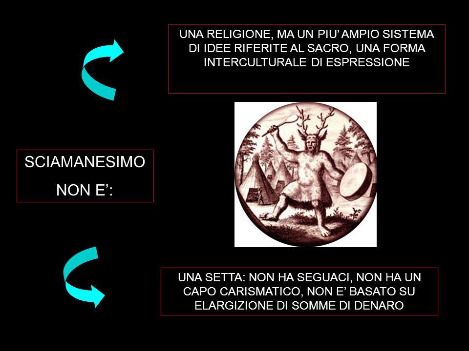 UNA RELIGIONE, MA UN PIU' AMPIO SISTEMA DI IDEE RIFERITE AL SACRO, UNA FORMA INTERCULTURALE DI ESPRESSIONE