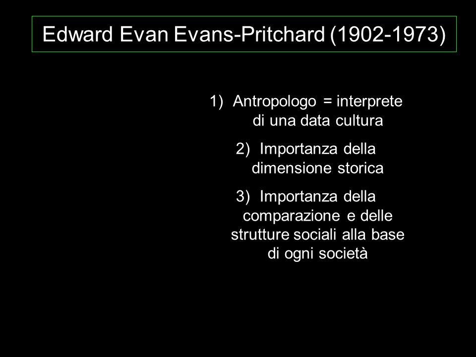 Edward Evan Evans-Pritchard (1902-1973)