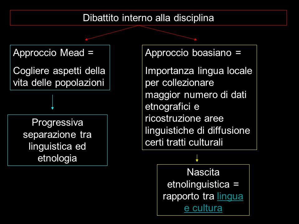 Dibattito interno alla disciplina