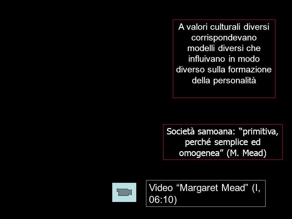 Società samoana: primitiva, perché semplice ed omogenea (M. Mead)