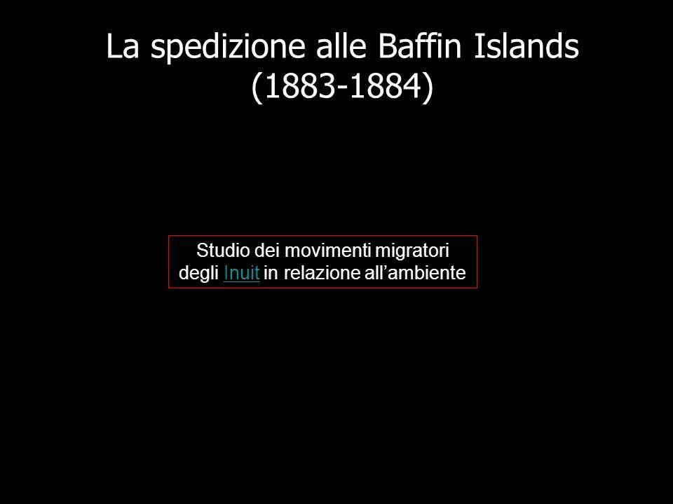 La spedizione alle Baffin Islands (1883-1884)