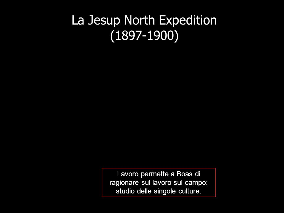 La Jesup North Expedition (1897-1900)