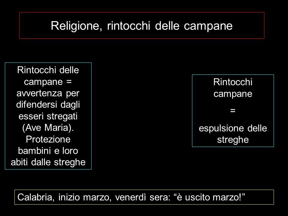 Religione, rintocchi delle campane
