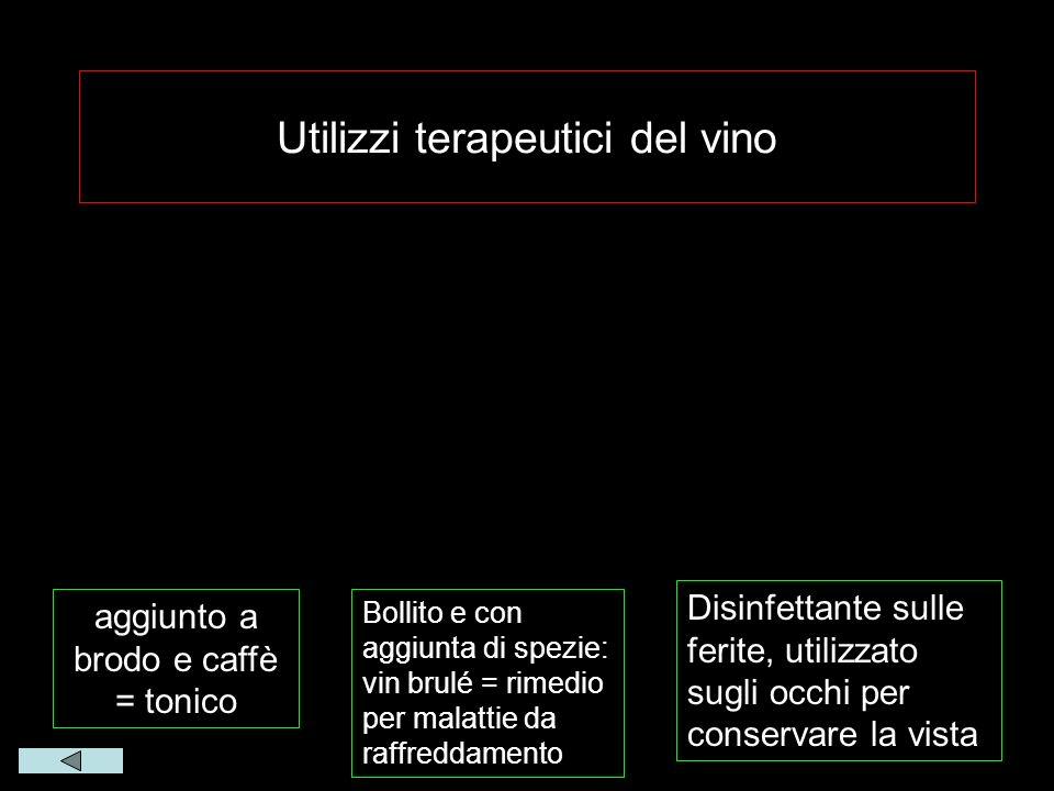 Utilizzi terapeutici del vino