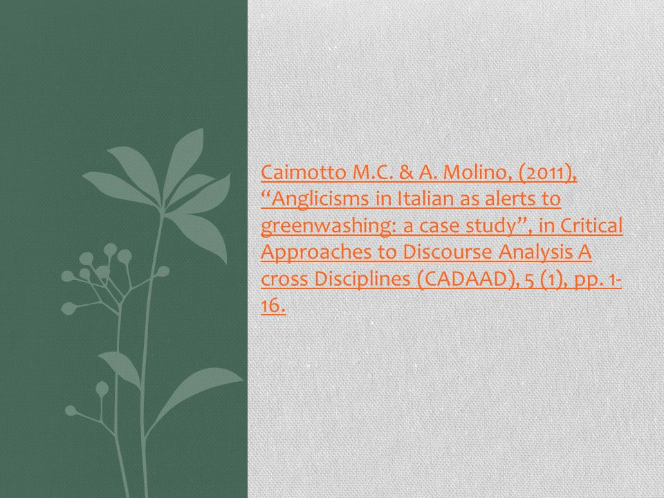 Caimotto M.C.& A.