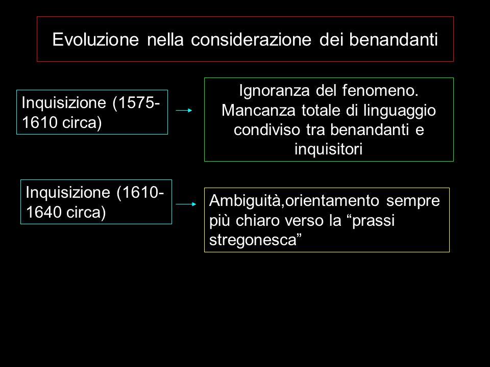 Evoluzione nella considerazione dei benandanti