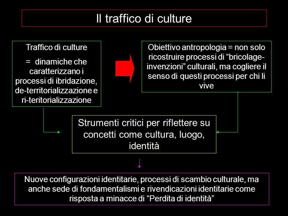 Il traffico di culture Traffico di culture.