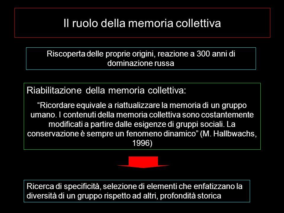 Il ruolo della memoria collettiva