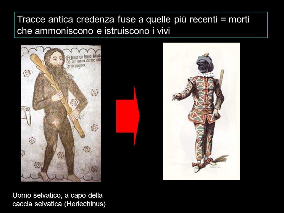 Tracce antica credenza fuse a quelle più recenti = morti che ammoniscono e istruiscono i vivi