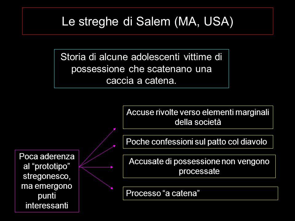 Le streghe di Salem (MA, USA)